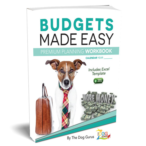 A made-easy workbook to help plan premium budgets prepared by the Dog Gurus.