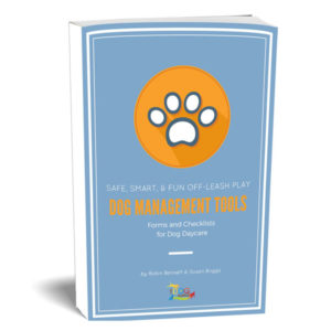 A book prepared by the dog gurus outlining dog management tools, it includes forms and checklists for dog daycare businesses.