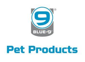 blue 9 pet products logo
